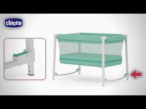Chicco кроватка-манеж Zip and Go Aquarelle