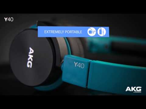 AKG Y-Series Y40 Headphones