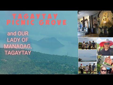 TAGAYTAY PICNIC GROVE and OUR LADY OF MANAOAG, TAGAYTAY PINAS 2019,VLOG 2