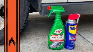 Pro Tip: Easily Remove Nasty Tar From Your Car!
