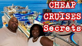 Free and Cheap Cruise Secrets You Should Know About How To Book a Cheap Cruise for $50 Per Day