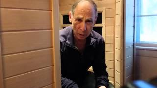 Fred talks about his experience with his CE-2 Clearlight Infrared Sauna.