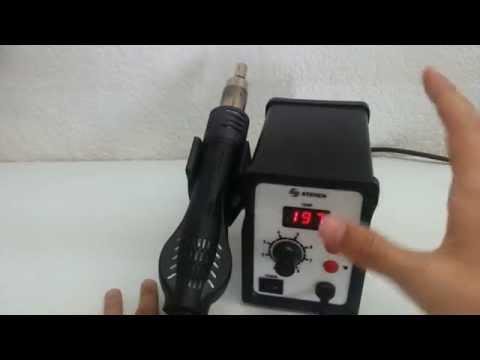 Cómo soldar SMD con estación de aire caliente y soldadura en pasta - Tutorial 3 - Fail + Fix