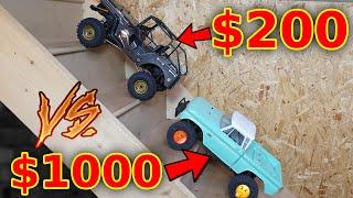 EXPENSIVE vs CHEAP RC Crawler Cars
