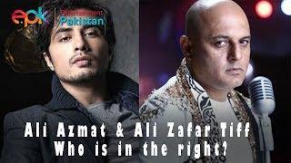Ali Azmat & Ali Zafar Tiff: Who is in the right?