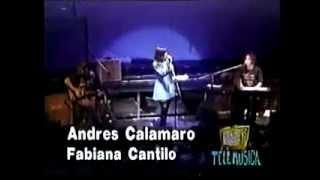 Andrés Calamaro & Fabiana Cantilo - Mi enfermedad (acústico)