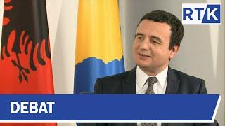 Debat - Intervistë me Kryeministrin Kurti 04.02.2020