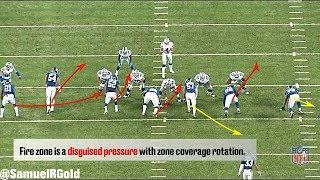 Film Room: 4-3 Over Front & Fire Zone Blitz | New York Giants' Defense (NFL Breakdowns Ep 69)