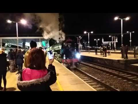 Blasted by 60163 Tornado's steam at Reading 14th February 20…