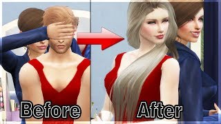 Turning My Bro Into Girl - Transformation Story #5 | Sims4
