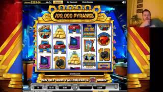 100,000 PYRAMID BONUS ROUND TRIGGERED !! GAME SLOT WIN !!
