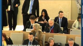 Prof Gerald Steinberg at UN HRC, 2nd statement
