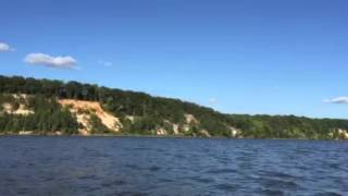 Fones Cliff pristine shoreline