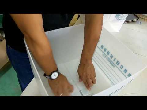 Como armar una caja de archivo