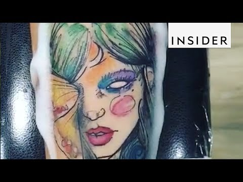 Watercolor Tattoos Will Take Your Breath Away