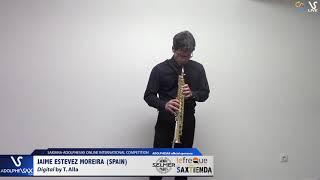 Jaime ESTEVEZ MOREIRA plays Digital by T. Alla #adolphesax