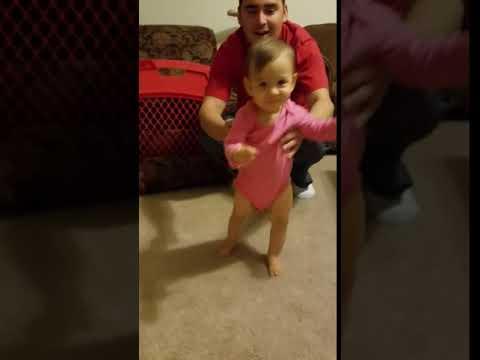 Emily's 1st steps