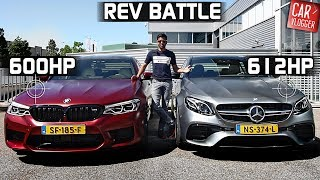 SIDE by SIDE the NEW BMW M5 2018 vs Mercedes-AMG E63 S 2018 Sedan 2018