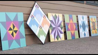 Quiltfolk - DIY Barn Quilt Tutorial