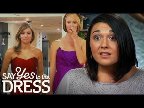 Mean Bride Attacks Bridesmaids Throughout Entire Appointment! | Say Yes to the Dress Bridesmaids
