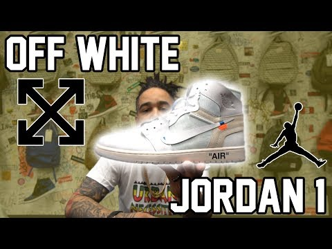 UNBOXING THE NEW OFF WHITE JORDAN 1 (YET TO RELEASE TO THE PUBLIC).