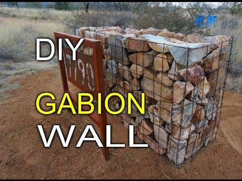DIY Gabion Walls