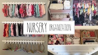 NURSERY ORGANIZATION AND IDEAS | BABY GIRL NURSERY