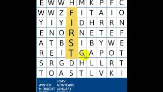 New Year's Day Word Search - ABCYA Games
