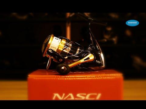 Катушка безынерционная SHIMANO NASCI 1000 FB фото №1