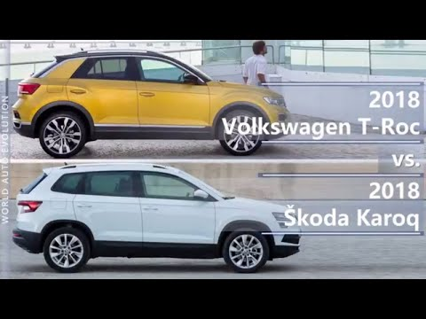 Volkswagen  T Roc Кроссовер класса J - тест-драйв 5