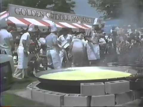 Flipping the World's Largest Pancake