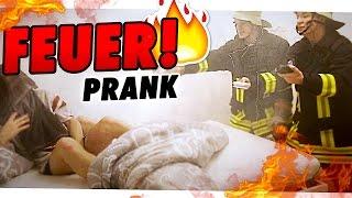 WACH AUF, ES BRENNT!! - PRANK