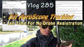 DJI AeroScope Receiver To Track Drone Flyers And Bangkok Drone Registration Fines And Jail Time