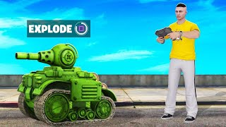 REMOTE CONTROL The STRONGEST TANK In GTA! (insane)