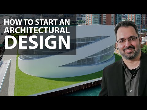 How to Start an Architectural Design with Architect Jorge Fontan