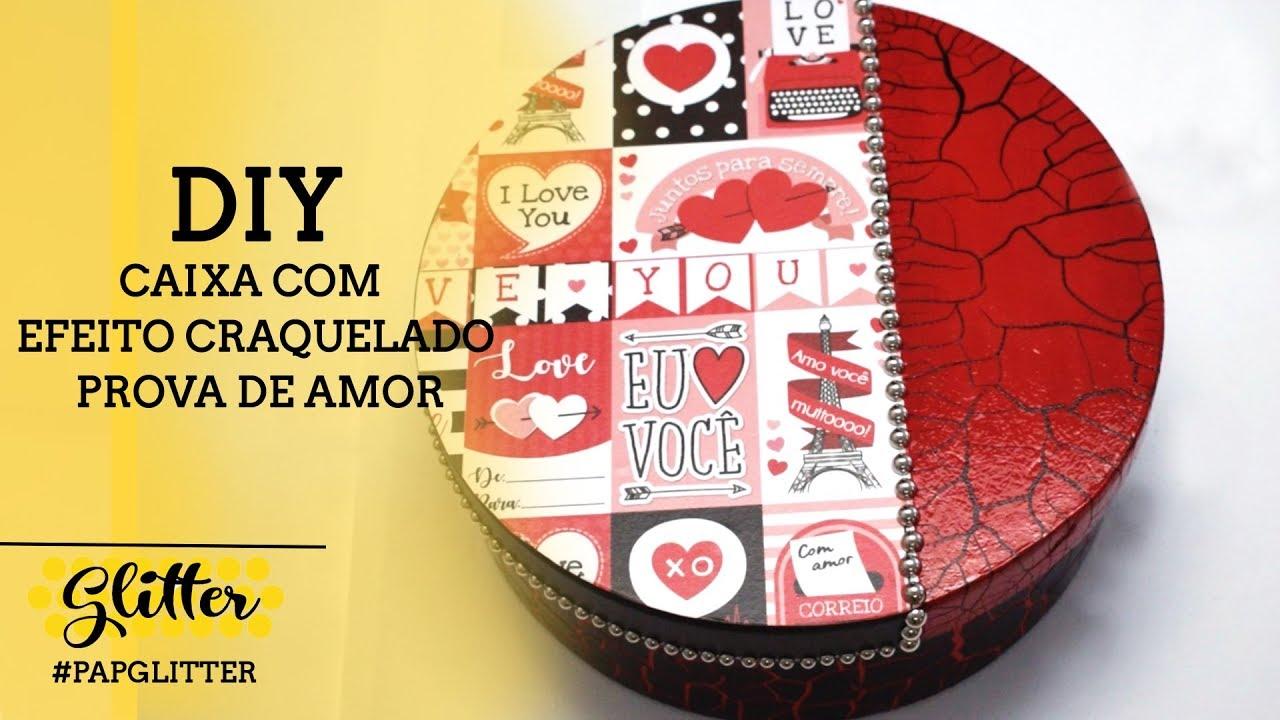 DIY | Caixa com Efeito Craquelado