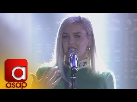 "ASAP: UK's Pop Star Anne-Marie sings ""Rockabye"" on ASAP"