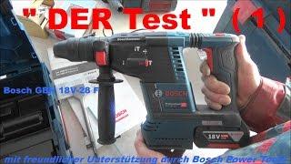 Bosch GBH 18V-26F Professional Produkttest