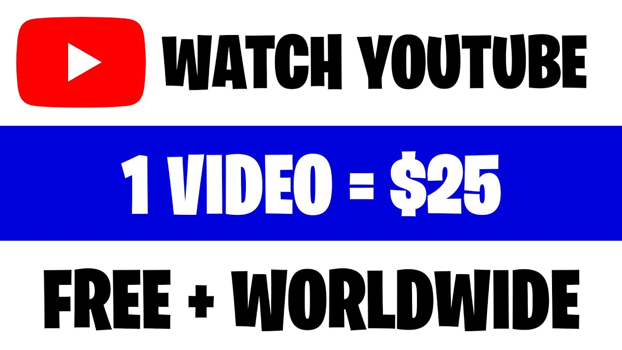 Make $225 PER HOUR Viewing YouTube Videos (Earn Money Online) thumbnail