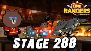 LINE Rangers | บราวกังฟูแพนด้า! STAGE 288 CLEAR!