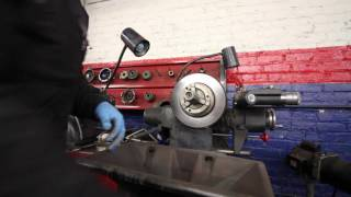 HOW TO USE A BRAKE LATHE