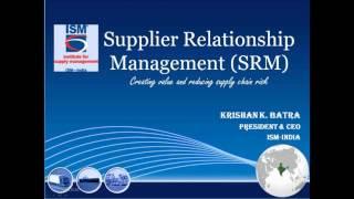 Webinar on Supplier Relationship Management