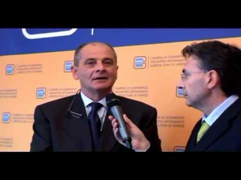 Renato Scapolan, nuovo presidente della Camera di Commercio di Varese