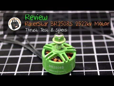 Review - RacerStar BR2508S 2522KV Brushless Motor from Banggood