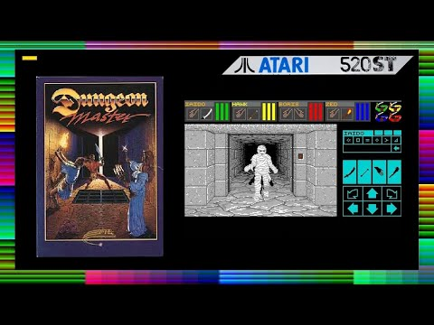 Dungeon Master: Atari ST - смотреть онлайн на Hah Life