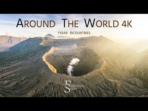סרטון מסע נפלא של צלם שטייל ב-13 מדינות ב-375 ימים