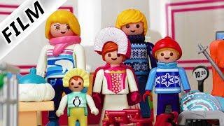 Playmobil Film deutsch | So sieht Familie Vogel im WINTER aus! | Große Einkaufszentrum Shoppingtour