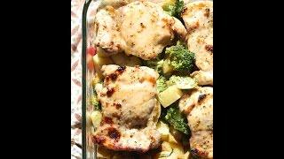The Best One Pan Honey Garlic Chicken