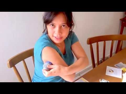 Regras e equipamentos de administração de insulina para crianças