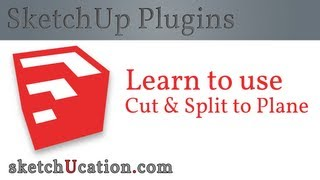 SketchUp Plugin | Cut  & Split to Plane